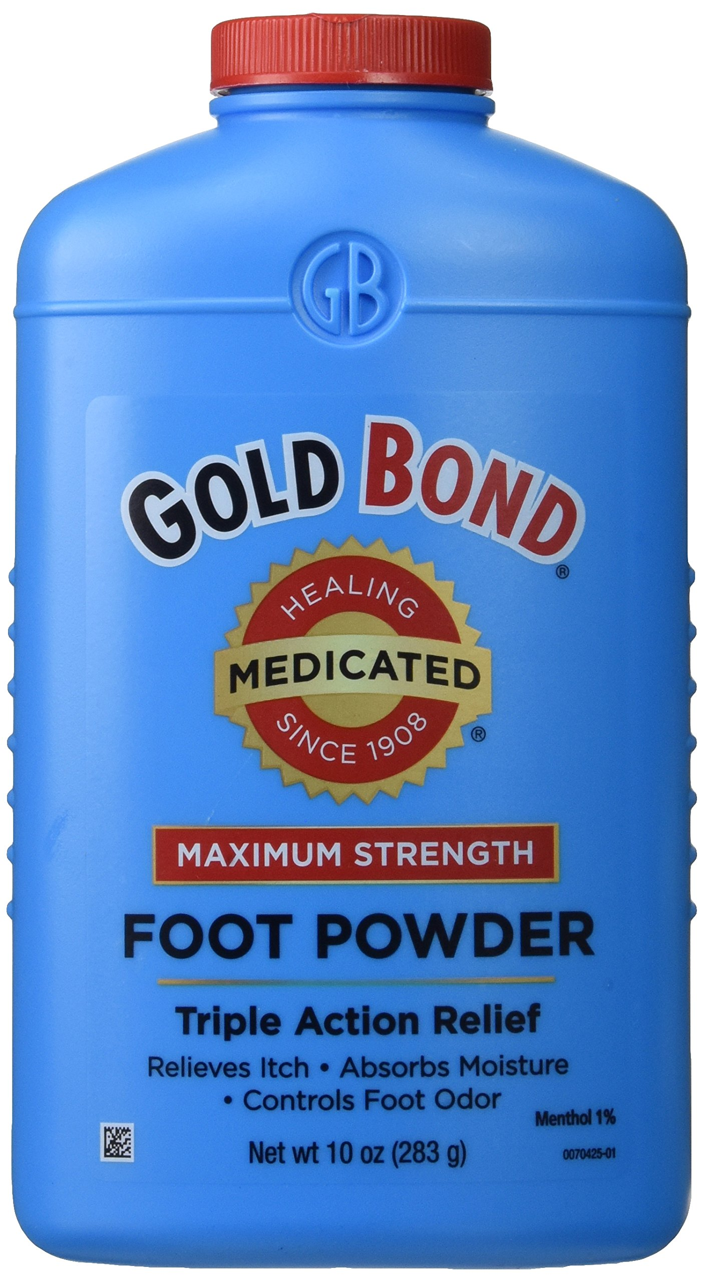 Gold Bond Medicated Foot Powder - 10 Oz (Pack of 2) by Gold Bond