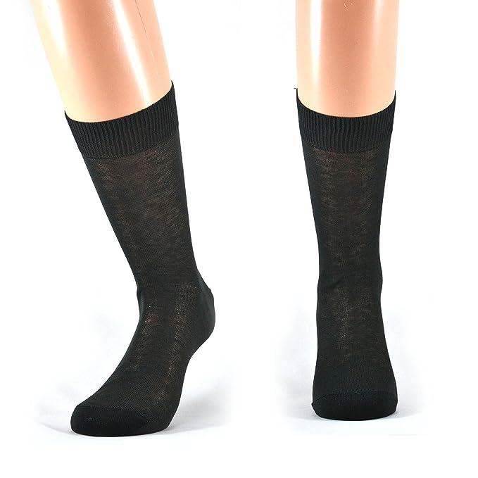 47943f4e08 Fontana Calze, 6 paia di calze UOMO corte in 100% Cotone Filo di Scozia.