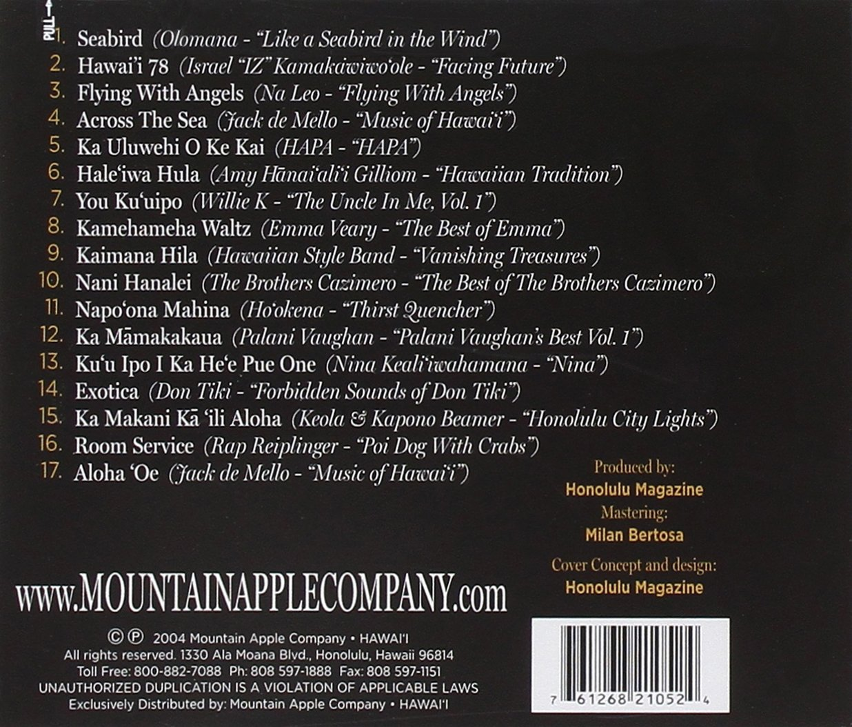 Fifty Greatest Hawaii Music Albums Ever by Mountain Apple
