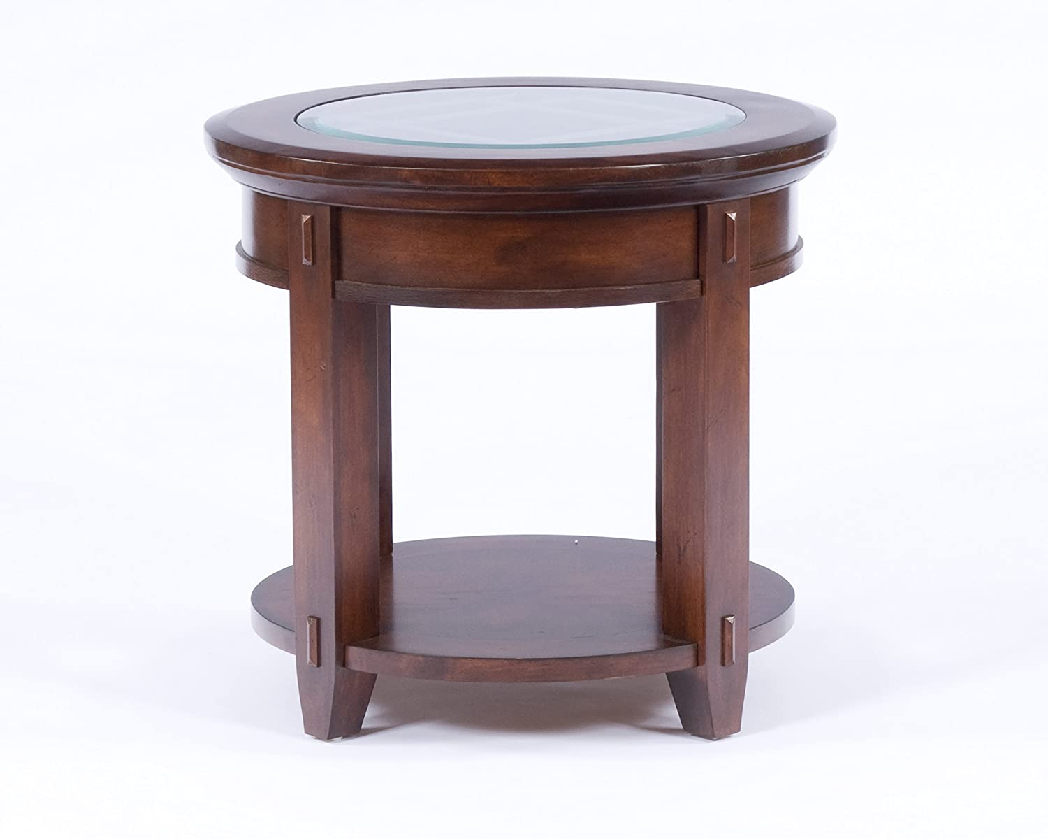 amazon com broyhill vantana round end table kitchen u0026 dining