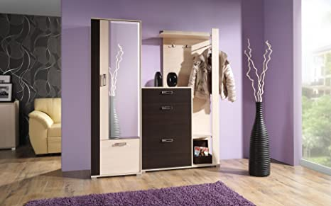 HomeDirectLTD Canna Garderobe ingresso Set di mobili per ingresso ...
