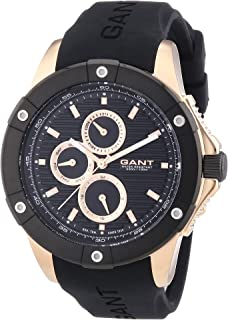 Gant – W10953 Men s Quartz Analogue Watch with Black Plastic Strap d5c5cce856d