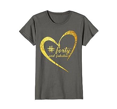 Womens 40th Birthday T Shirt