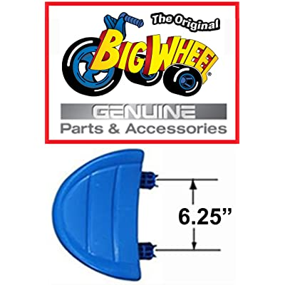 "Blue Seat for 16"" the Original Big Wheel (Replacement Part) with 6.25"" Spacing, Made in USA.: Toys & Games"