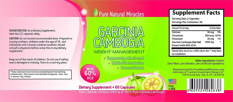 Amazon.com: Garcinia Cambogia 1000 mg – Get Pure Garcinia ...