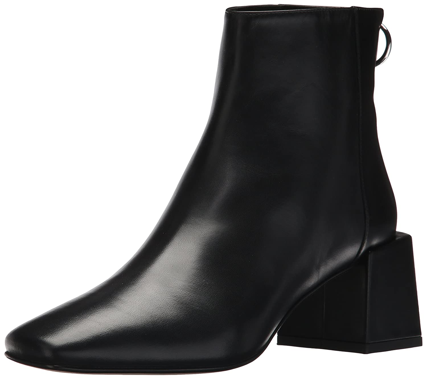 Via Spiga Women's Lara Blocked Ankle Boot B074CYQ7VS 9 B(M) US|Black Leather
