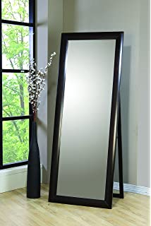 Amazon.com: Coaster Transitional Cappuccino Floor Mirror: Home & Kitchen