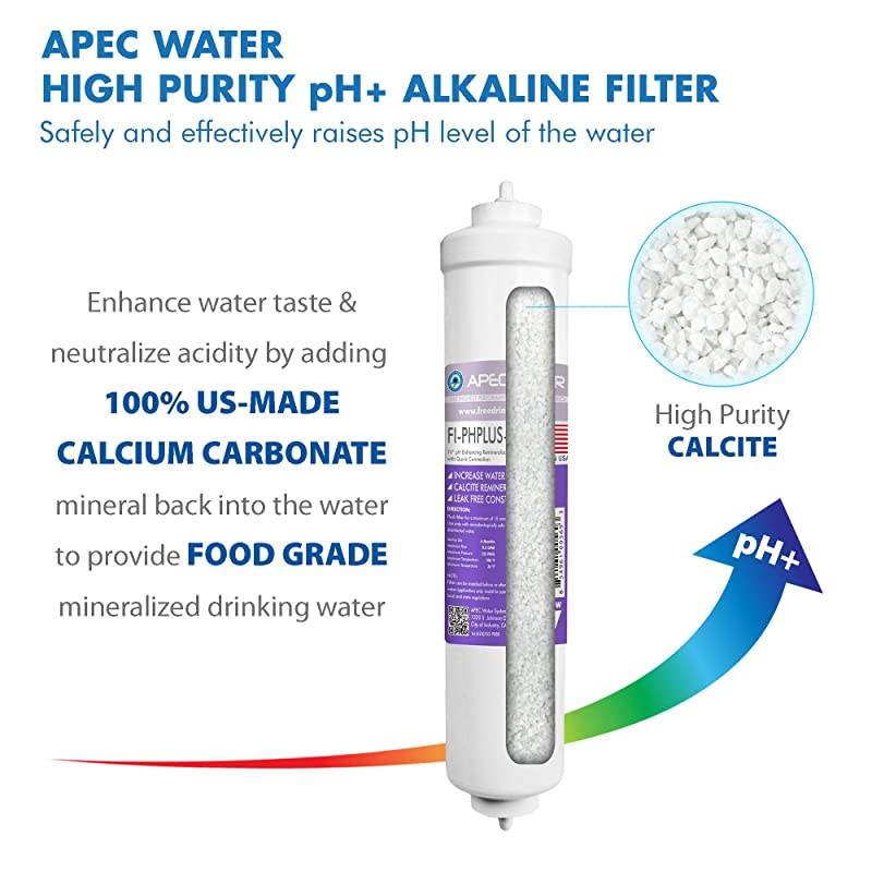 APEC Water ULTIMATE RO-PH90 - Alkaline & pH+ filter