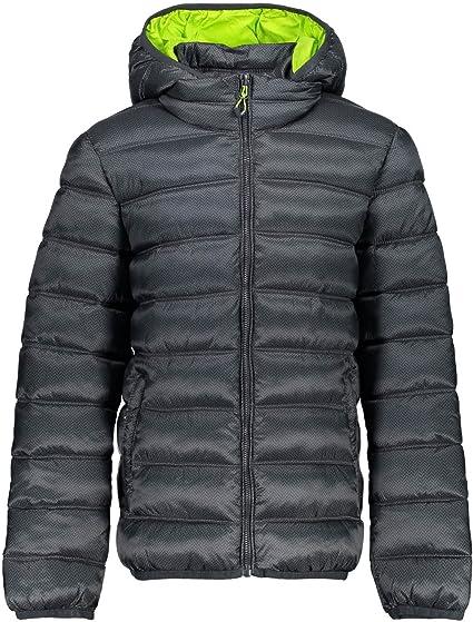CMP Jungen Daunenjacke Zip Hood Jacket 3Z19174P Antracite