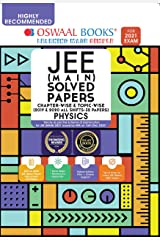 Oswaal JEE Main Solved Papers Chapterwise & Topicwise (2019 & 2020 All shifts 32 Papers) Physics Book (For 2021 Exam) Kindle Edition