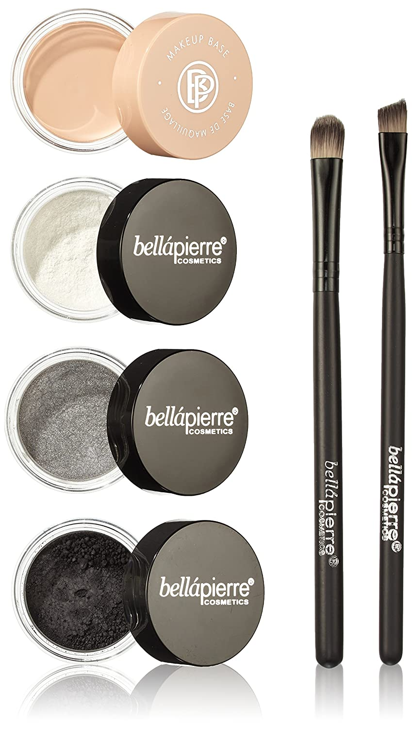 bellapierre get the look kit smokey eyes, 1 Count GTL004