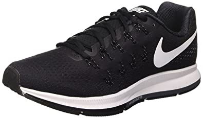a3dc646ee17 Nike Men's Air Zoom Pegasus 33, Black/White/Anthracite/Cool Grey -