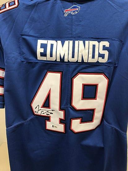 Signed Tremaine Edmunds Jersey - Bas Beckett 3 - Beckett Authentication -  Autographed NFL Jerseys 9fb6be7d6