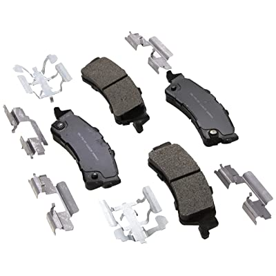 ACDelco 17D792MH Professional Semi-Metallic Rear Disc Brake Pad Set: Automotive
