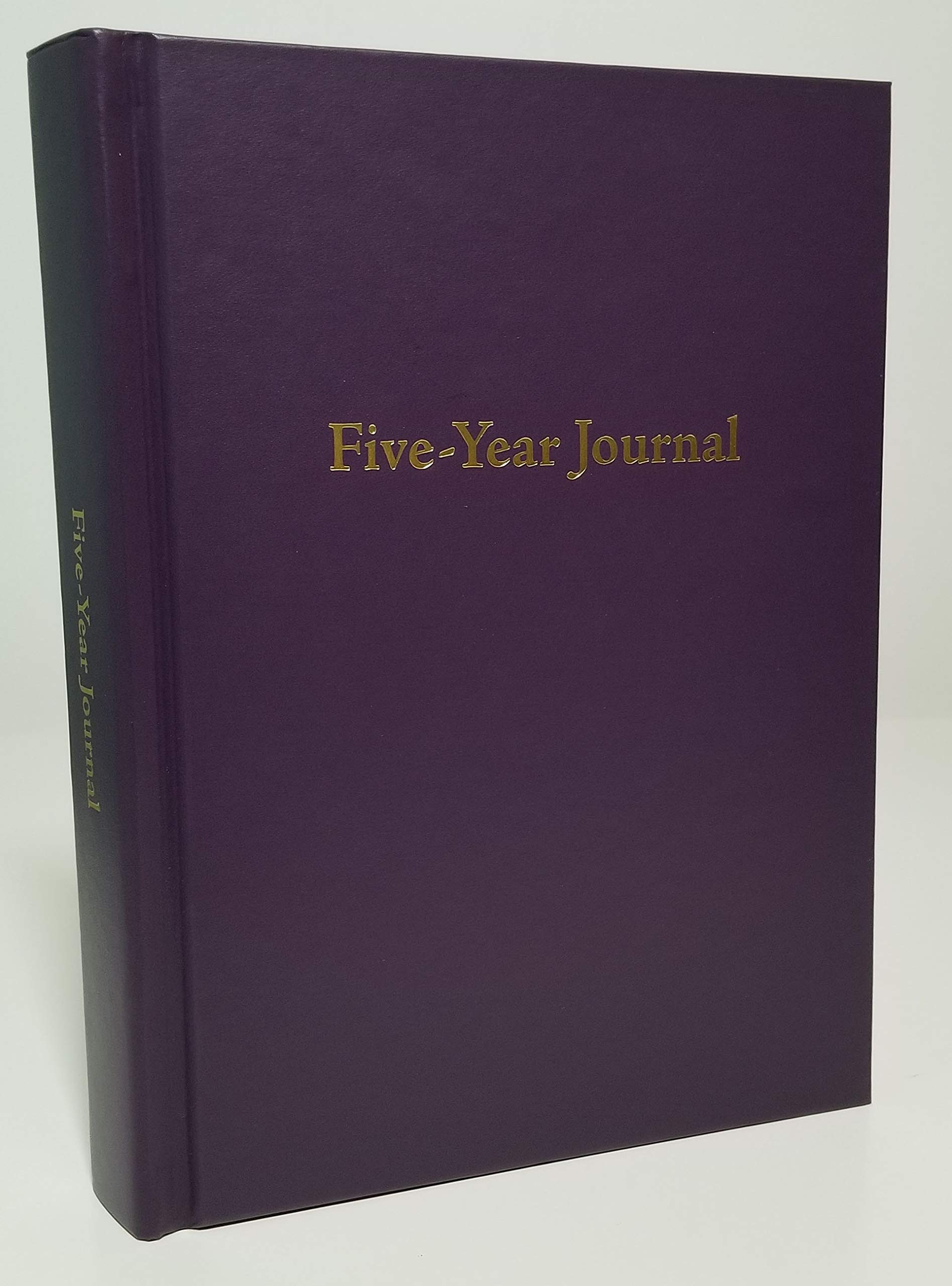 Hard Cover 5 Year Journal | The Easiest to Use Five Year Journal | Quick and Easy Five Year Daily Journal System | 6x8.25 Inch Size (Blackberry Purple) by Writing Your Life