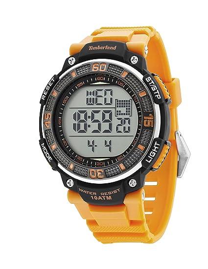 Timberland TBL.13554JPB/04 - Reloj Digital de Cuarzo para Hombre con Correa de plástico, Color Negro: Amazon.es: Relojes