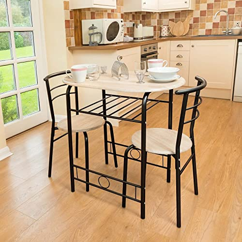 Kitchen Table And Chairs Amazon: Folding Dining Set Drop Leaf Table And Chairs Butterfly