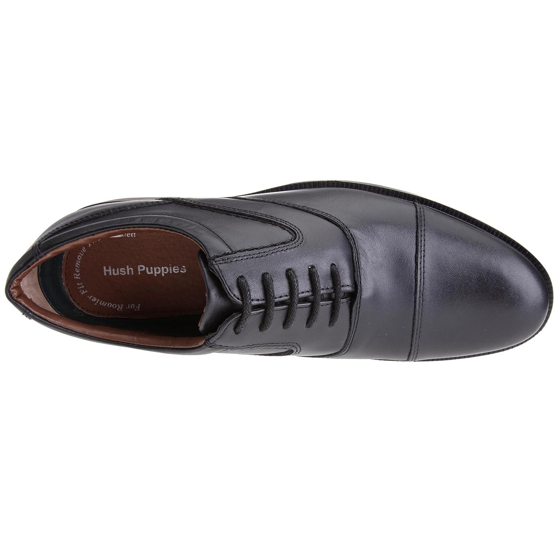 Hush Puppies H13139000_Noir (Black Leather) - Mocasines de cuero para hombre, color negro, talla 44: Amazon.es: Zapatos y complementos