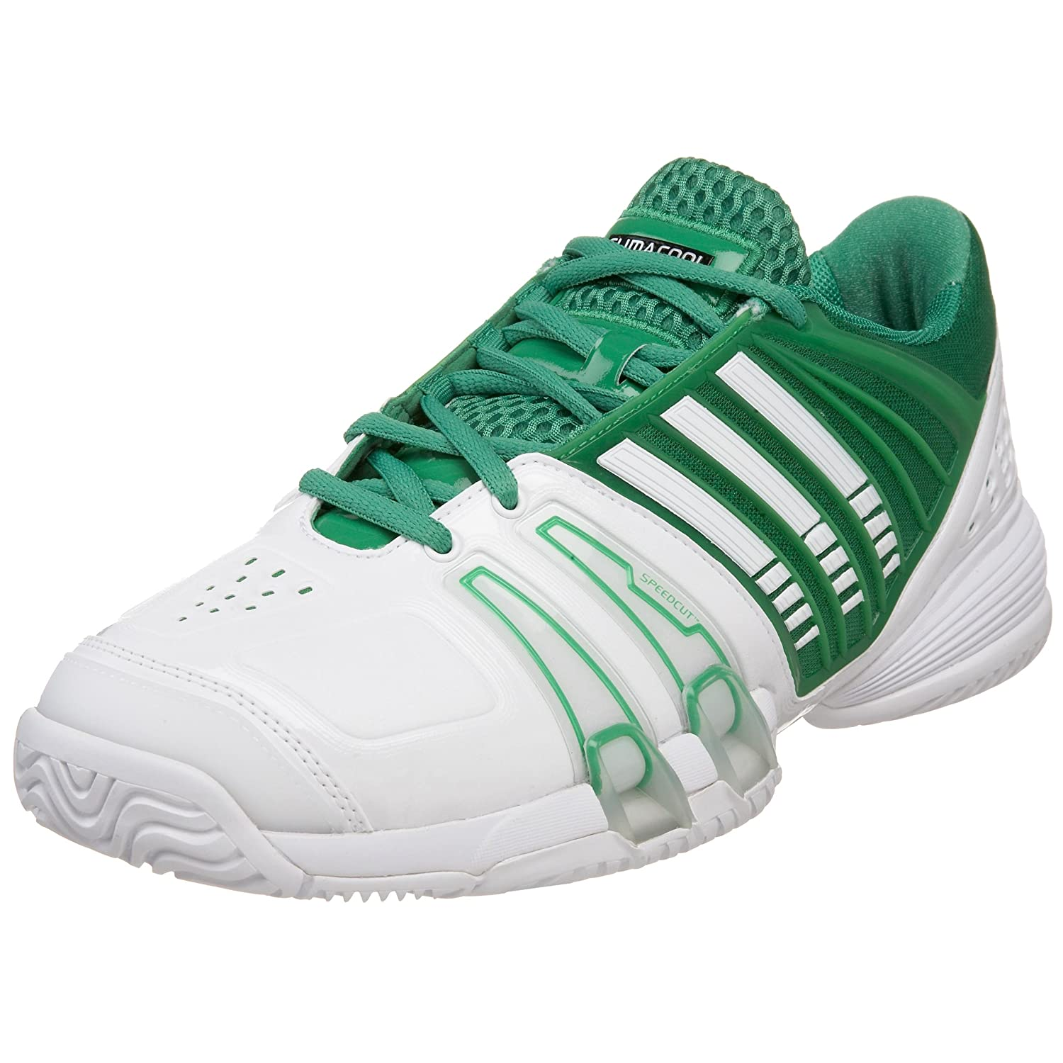premium selection 2a0ab afe0a Adidas Men's Climacool Genius Novak II Tennis Shoe, White ...