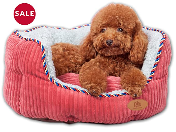 PLS Pet Snugg Bolster Dog Bed