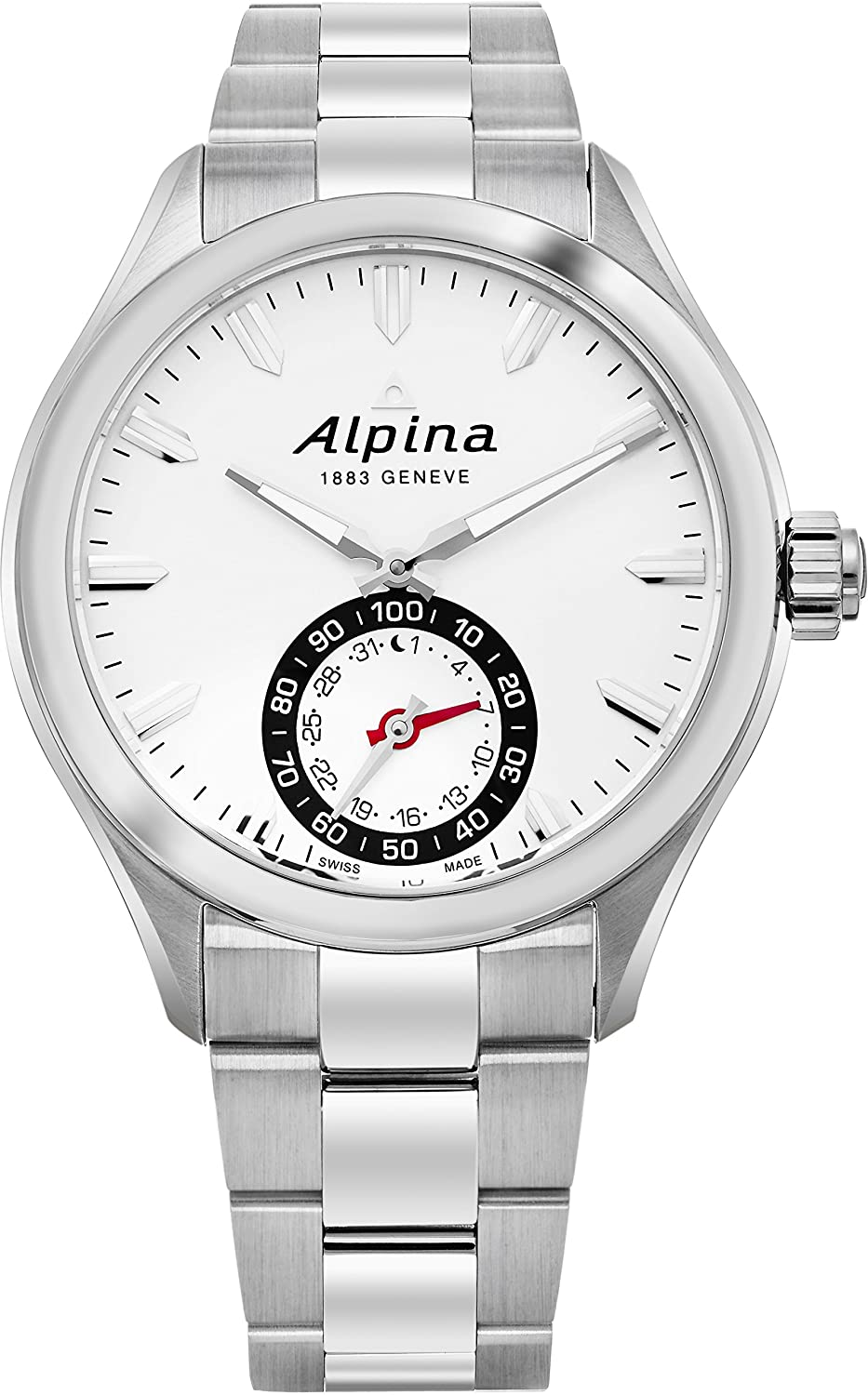 Alpina Geneve Horological Smartwatch Herren Automatikuhr SmartWatch