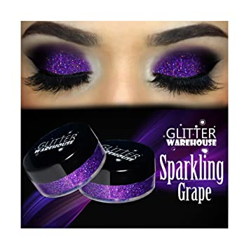 Amazon Com Sparkling Grape Glitterwarehouse Purple Holographic