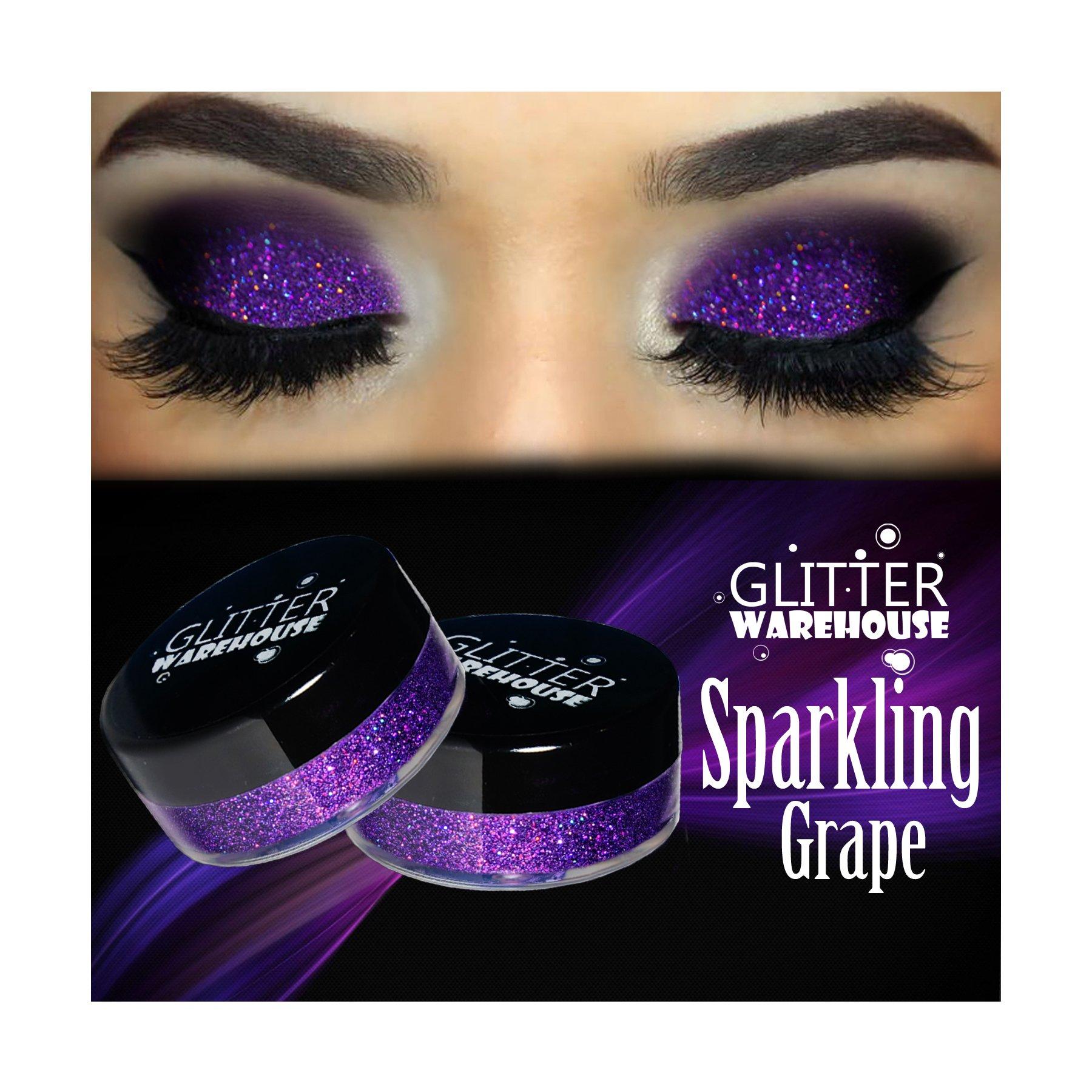 Amazon.com : GlitterWarehouse Goddess Holographic Gold Loose Glitter ...
