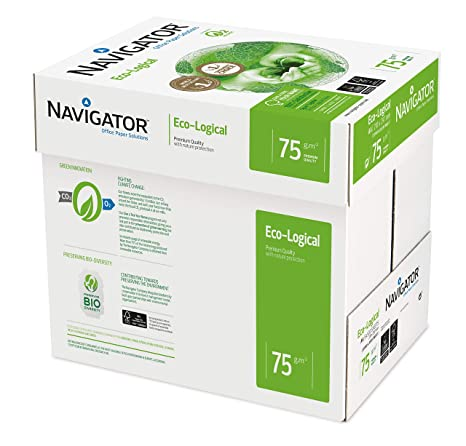 Amazon.com: NAVIGATOR Eco-logical – Papel FSC para impresora ...