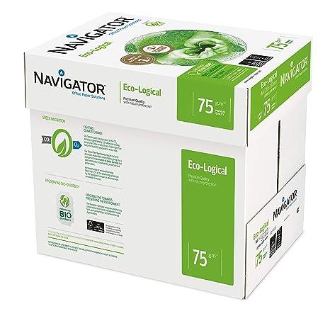 Amazon.com: NAVIGATOR Eco-logical – Papel FSC para impresora ...