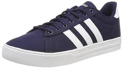 best sneakers 9e388 065d3 adidas Herren Daily 2.0 Gymnastikschuhe Blau Collegiate Navy FTWR White, 40  EU