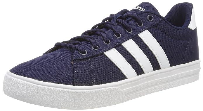 adidas Daily 2.0 Sneaker Herren Blau (Collegiate Navy) mit weißen Streifen