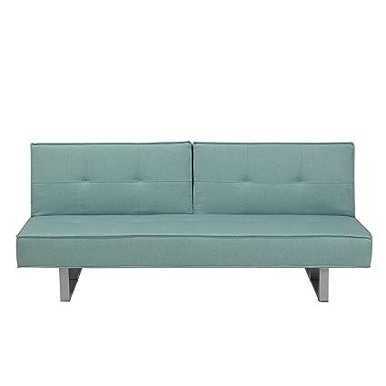 Magnificent Modern Fabric 3 Seater Sofa Bed Reclining Back Metal Legs Frankydiablos Diy Chair Ideas Frankydiabloscom