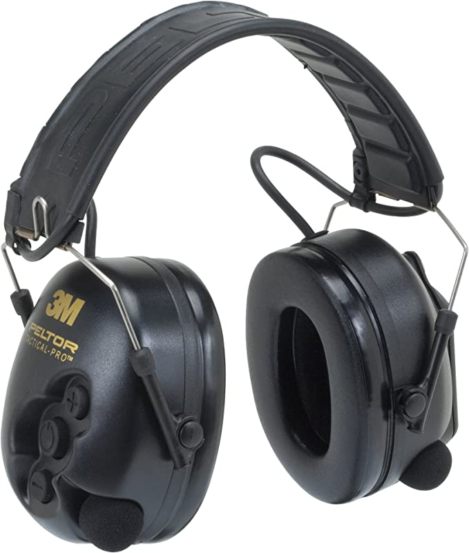 Best Shooting Ear Protection: 3M PeltorTacticalPro Communications Headset MT15H7F SV