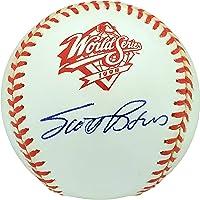 $152 » Scott Brosius Autographed Official 1998 World Series Baseball New York Yankees WS MVP Beckett BAS #V62301 - Autographed Baseballs