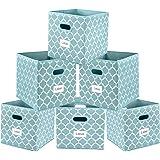 Amazon.com: Onlyeasy Foldable Storage Bins Organizer with ...