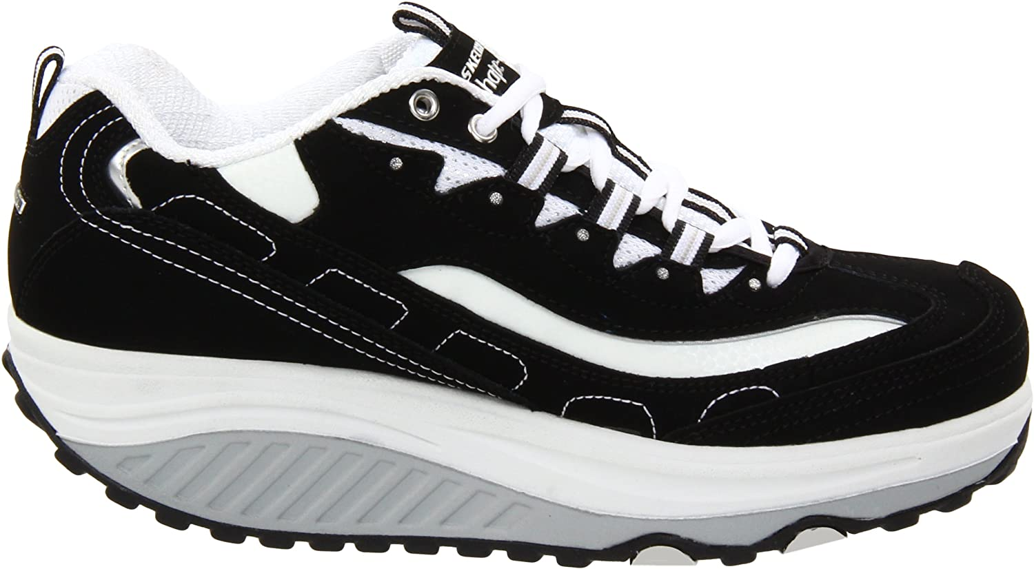 Skechers Women's Shape Ups B001SN8DIO Strength Fitness Walking Sneaker B001SN8DIO Ups 8 B(M) US|Black/White 8ed85a