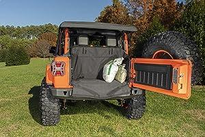 Rugged Ridge 13260.14 C3 Cargo Cover, 18-Current Jeep Wrangler JL, 2 Door