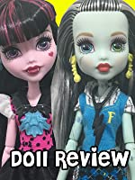 Monster High First Day Of School Frankie Stein & Draculaura Doll Review.