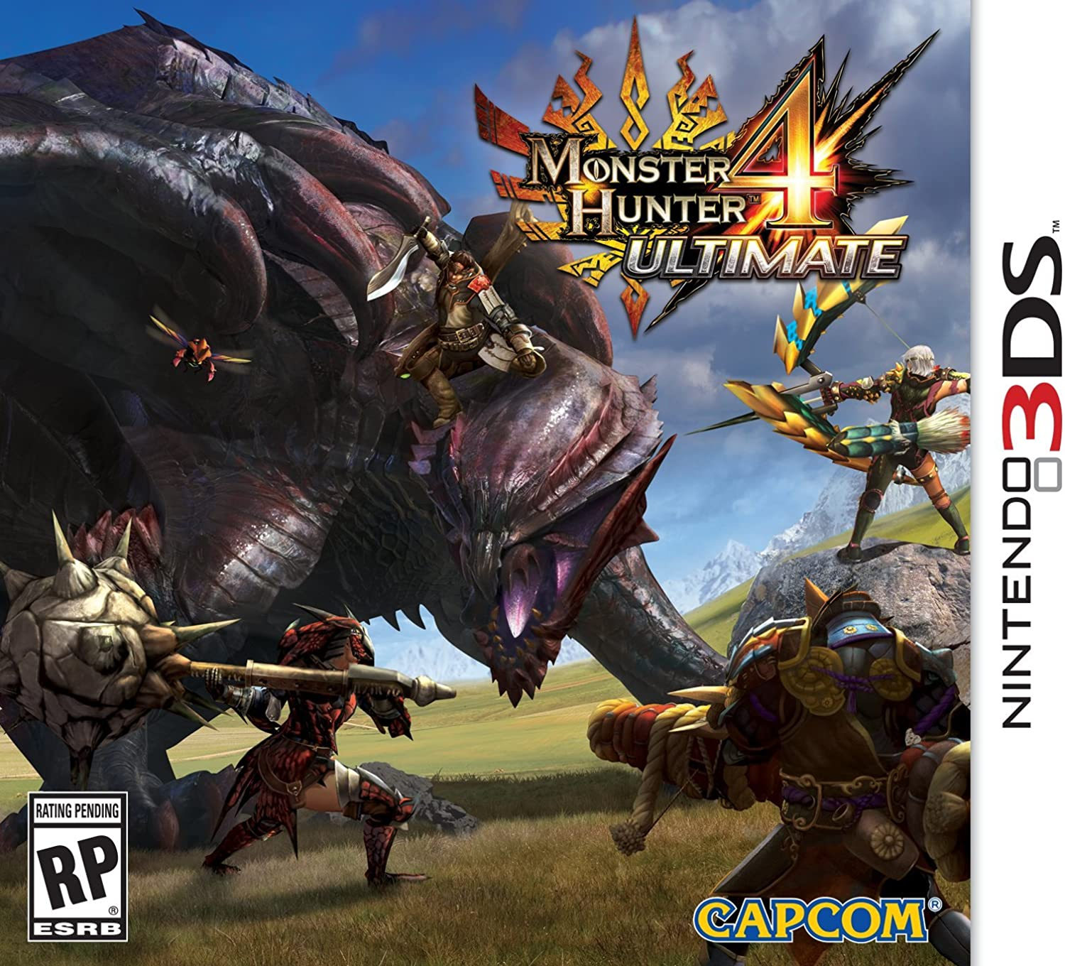 Nintendo Monster Hunter 4 Ultimate, 3DS - Juego (3DS, Nintendo 3DS ...