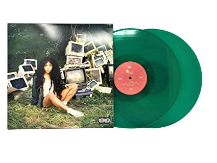 7ee3e7150b3 SZA - Ctrl (Limited Edition Green Colored Double LP) - Amazon.com Music