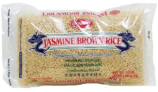 Dynasty Jasmine Bolsa de arroz 2 libras: Amazon.com: Grocery ...
