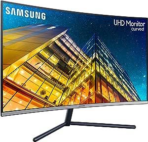 """Monitor 32"""" LED VA Curvo LU32R590CWUXEN 3840 x 2160 4K Ultra HD Tempo di Risposta 4 ms"""