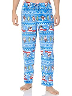 Frosty the Snowman Men s Fleece Holiday Christmas Lounge Pajama Pants 5b2ae24e8