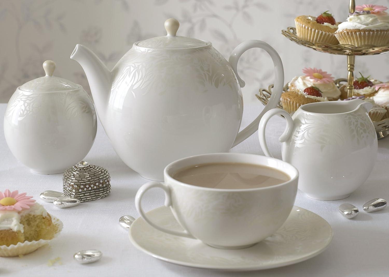 Amazon.com | Denby Monsoon Home Lucille Gold 9-Ounce Teacup: Teacups