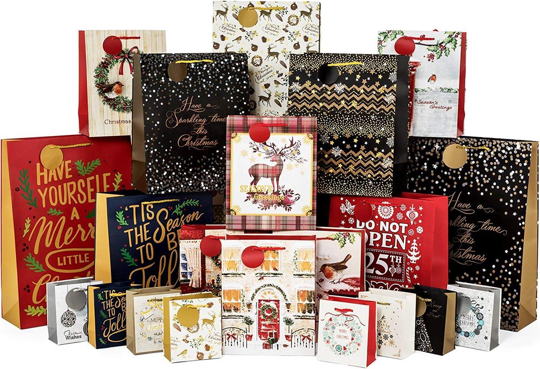 Christmas Gift Bags by American Greetings Pack of 4