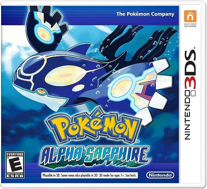 Pokemon Alpha Safiro - World Edition, 3DS