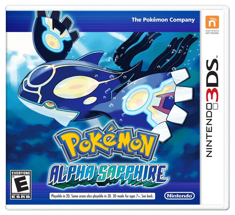 Pokemon Alpha Sapphire 3ds by Nintendo