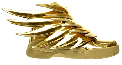 adidas JS Wings 3.0 Gold Men's Shoes Gold Metallic b35651 (9 D(M)