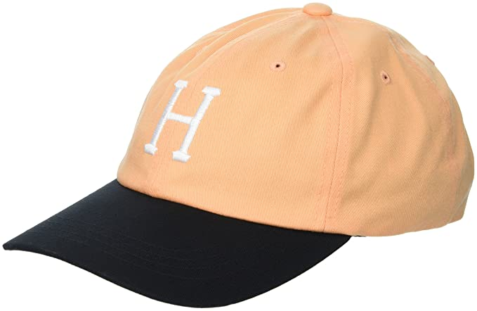Amazon.com  HUF Men s Classic H Curved Visor 8541a7622a60
