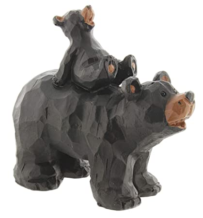 Amazon.com: SLIFKA - Figura decorativa de oso de resina ...